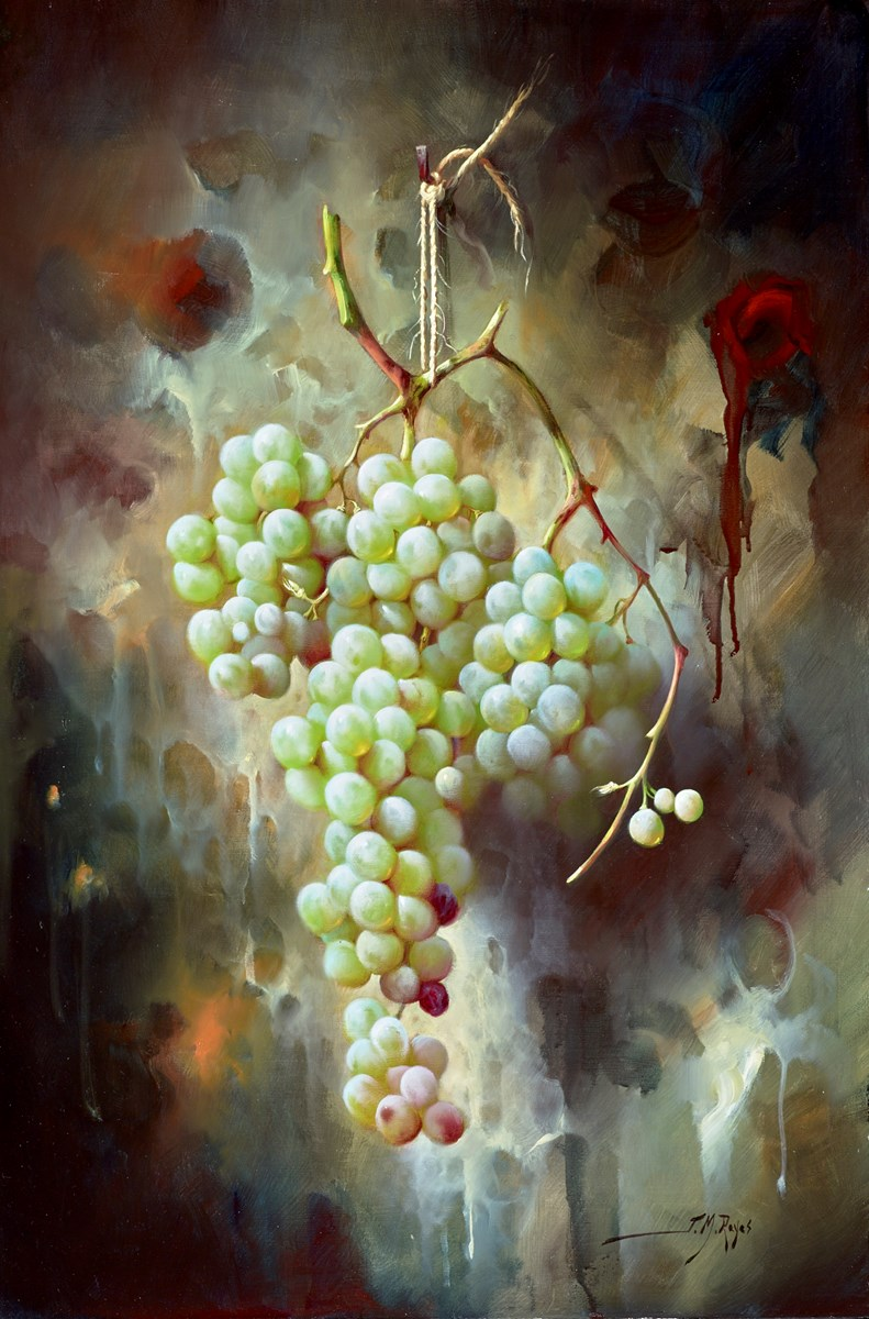 Uvas Verdes III by j m reyes -  sized 16x24 inches. Available from Whitewall Galleries